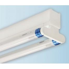 Светильник ДСО 02-2х22-002 с лампой Philips 840