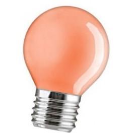 15D1/R/E27 15W лампа накал. капля красная GE