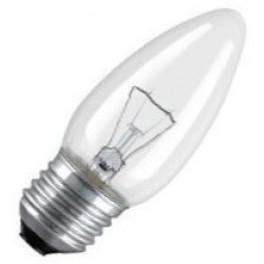 CLAS B CL 40W E27 лампа накал. свеча прозр. Osram