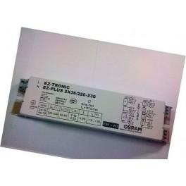 EZ-PLUS 2x36/230-240 (3,4x18W) 180x42x33 OSRAM - ЭПРА -СНЯТО см.871869644971400