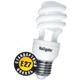 NCL8 SF 11W/827 2700K E27 лампа комп. люм. Navigator по 3шт. в уп.