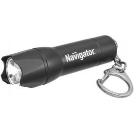 NPT-KC02-BL-3LR44 чёрный светодиод. фонарь-брелок Navigator