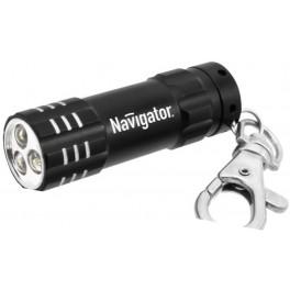 NPT-KC03-BL-3LR44 чёрный светодиод. фонарь-брелок Navigator