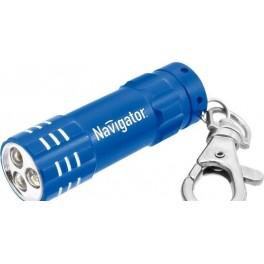 NPT-KC03-R-3LR44 синий светодиод. фонарь-брелок Navigator