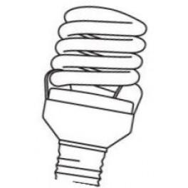 Лампа DULUX MICRO TWIST 18W/840 E27 - снято-приемник DSST MICRO TWIST 21W