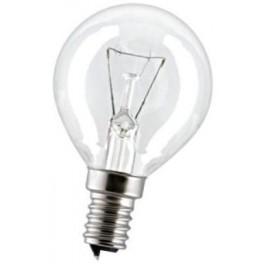 15D1/CL/E14 15W лампа накал. капля прозр. GE