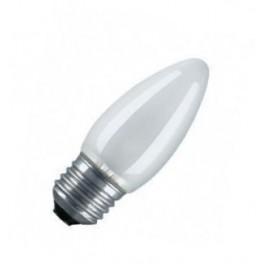 CLAS B FR 40W E27 лампа накал. свеча мат. Osram