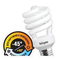 Лампы Navigator компактные люминесцентные спираль Е14, E27 SH