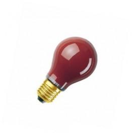 DECOR A RED 11W 240V E27 лампа накал. Osram