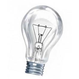 75A1/CL/E27 75W лампа накал. груша прозр. GE