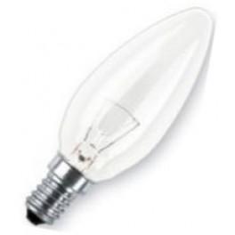 CLAS B CL 25W E14 лампа накал. свеча прозр. Osram