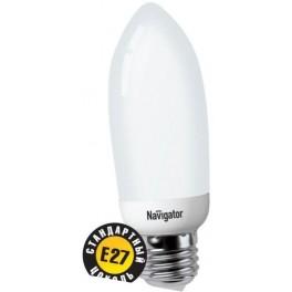 NCL C35 9W/827 2700K E27 лампа комп. люм. Navigator