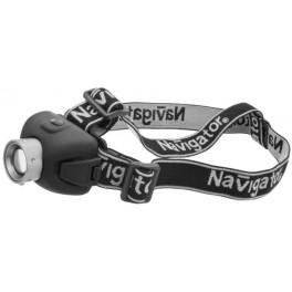 NPT-H06-3AAA светодиод. налобный фонарь Navigator