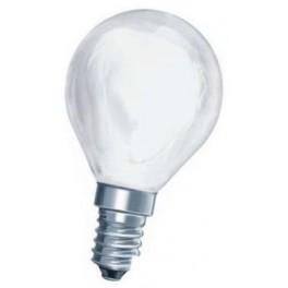 60D1/FR/E14 60W лампа накал. капля мат. GE