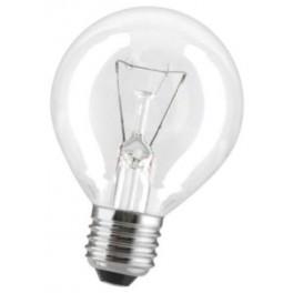 40D1/CL/E27 40W лампа накал. капля прозр. GE