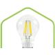 LED-A60-PREMIUM 8W 220V 720lm 3000К Е27 прозрачная  светодиод. лампа ASD