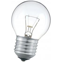 P45 25W CL E27 лампа накал. прозр. Philips