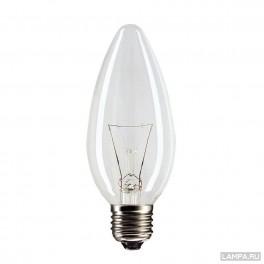 B35 60W 230V E27 CL лампа накал.прозр.Philips