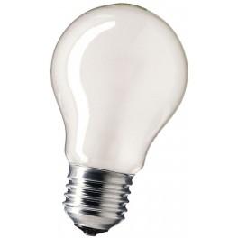 A 55 75W FR E27 лампа накал.мат. Philips