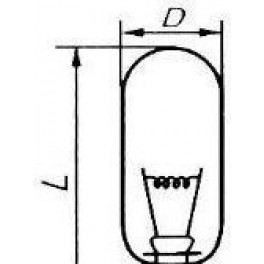 ПЖ 50-500-1 P40s/41 лампа прожекторная Лисма