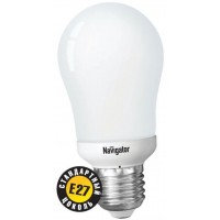 Лампы Navigator компактные люминесцентные стандартные Е14, Е27 груша А55