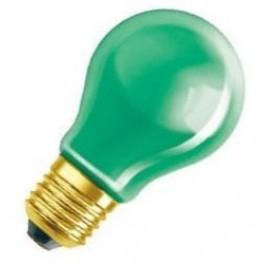 DECOR A GREEN 11W 240V E27 лампа накал. Osram