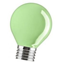 15D1/G/E27 15W лампа накал. капля зеленая GE