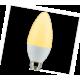 Candle   LED 6,0W 220V E14 золотистая свеча (композит) 101x37 Ecola
