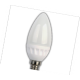 LED Candle 5,0W 2700K E14 100х37 свеча (керамика) светодиод. лампа Ecola
