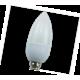 Light candle   LED Eco 3,0W 220V E14 2700K свеча  103x37 Ecola