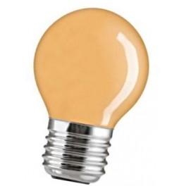 15D1/Or/E27 15W лампа накал. капля оранж. GE