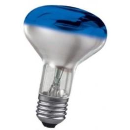 CONC R80 BLUE 60W E27 лампа накал. Osram