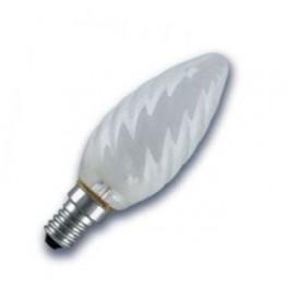 CLAS BW FR 40W E27 лампа накал. свеча витая мат. Osram