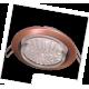 Ecola GX53 H4 светильник встраив без рефл  Черненая медь 38x106 - 2pack