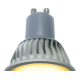 Ecola Reflector GU10  LED  7,0W 220V золотистый  (ребристый алюм радиатор) 56x50