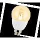 Globe   LED Premium  4,0W G45 220V E14 2700K 320° прозрачный шар искристая точка 86х45 Ecola