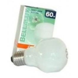 BELLA T55 JADE 60W E27 лампа накал.  Osram
