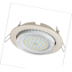 Ecola GX53 H4 светильник встраив без рефл  Жемчуг 38x106
