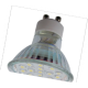 Light Reflector GU10  LED  3W 220V GU10 4200K прозрачное стекло 53x50 Ecola