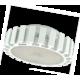 Ecola GX53   LED 13,0W Tablet 220V 2700K матовое стекло (фронтальный алюм радиатор) 28x75