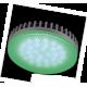 GX53   LED color  6,1W Tablet 220V Green Зеленый матовое стекло 28x74 Ecola