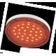 GX53   LED color  4,4W Tablet 220V Red Красный прозрачное стекло 27x74 Ecola