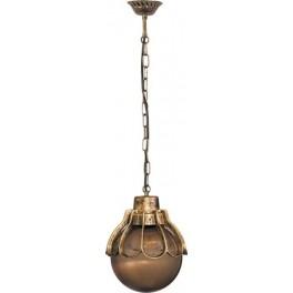 Светильник садово-парковый PL5055 шар на цепочке 100W E27 230V, черное золото