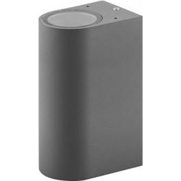 Светильник садово-парковый DH015, 2*GU10 230V, серый