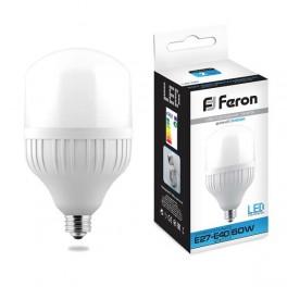 Лампа светодиодная LB-65 E27-E40 60W 6400K