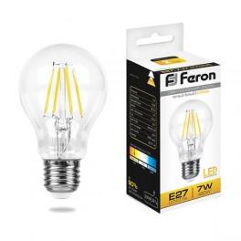 Лампа светодиодная LB-57 Шар E27 7W 2700K