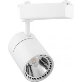 Светодиодный светильник AL103 трековый на шинопровод 30W 4000K, 35 градусов, белый