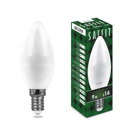 Лампа светодиодная SAFFIT SBC3709 Свеча E14 9W 4000K