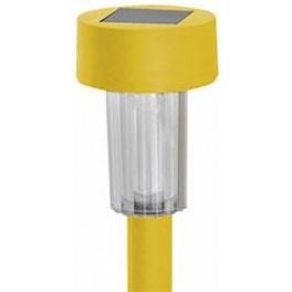 Садовый светильник на солнечной батарее PL242 столбик 1LED