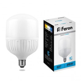 Лампа светодиодная LB-65 E27 25W 6400K